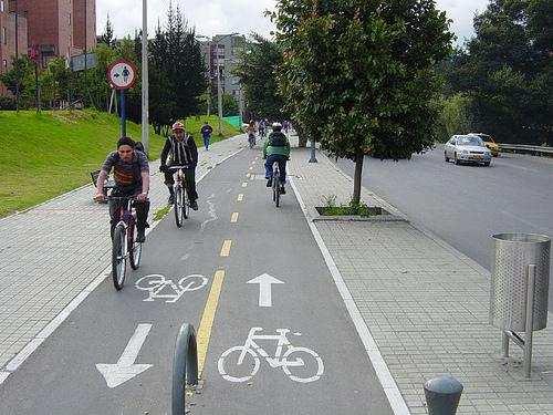 Ścieżki rowerowe w Myszkowie