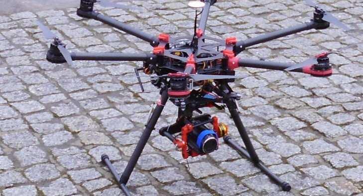 Dron w działaniach antysmogowych